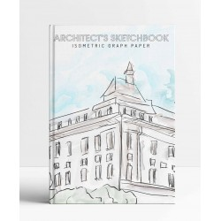 Architects Sketchbook - Isometric Graph Paper