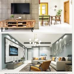 Modern LCD-TV Wall Unit Design